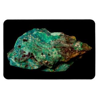Malachite Photo on Black Premium Flexi Magnet