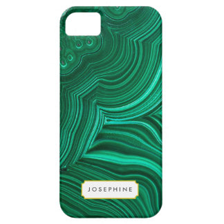 Malachite Slice Mineral Stone Pattern iPhone SE/5/5s Case