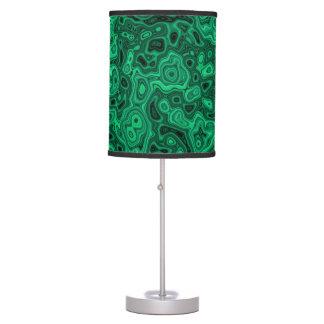 Malachite Table Lamp