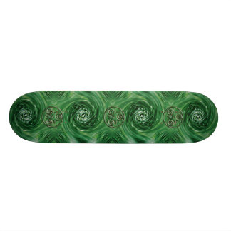Malachite Triskel Skateboard