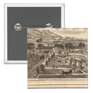 Malacomes Rancho Pinback Button