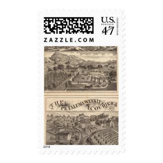 Malacomes Rancho Postage Stamp