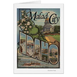 Malad CityLarge Letter ScenesMalad City, ID Card