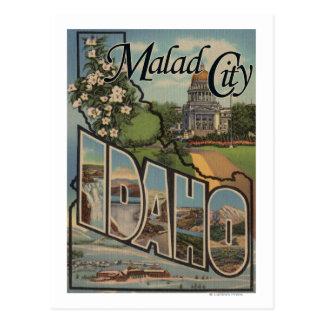 Malad CityLarge Letter ScenesMalad City, ID Postcard