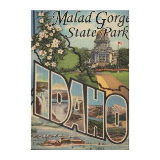 Malad Gorge State Park, Idaho Canvas Print