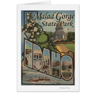 Malad Gorge State Park, Idaho Card