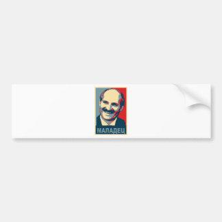 Maladec de Aleksandr Lukashenko Pegatina Para Auto