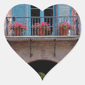 Malaga Cove Plaza Heart Sticker
