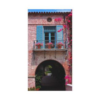 Malaga Cove Plaza, Palos Verdes CA Gallery Wrap Canvas