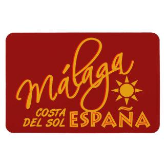 Málaga España custom magnet