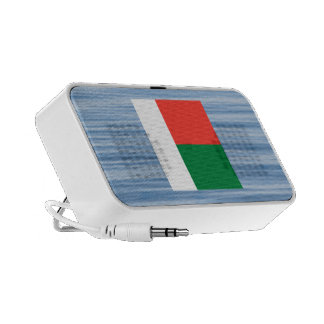 Malagasy Flag Floating on water Mini Speakers