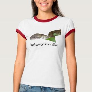 Malagasy Tree Boa Ladies Ringer T-Shirt