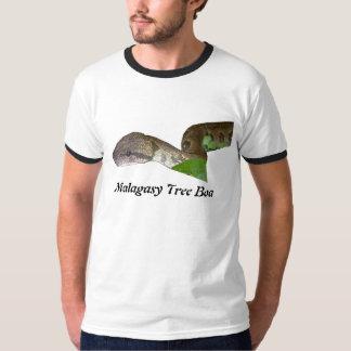 Malagasy Tree Boa Ringer T-Shirt