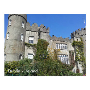Dublin postcards zazzle