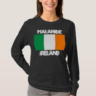 Malahide, Ireland with Irish flag T-Shirt