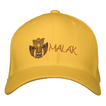 MALAK the Owl Embroidered Baseball Cap