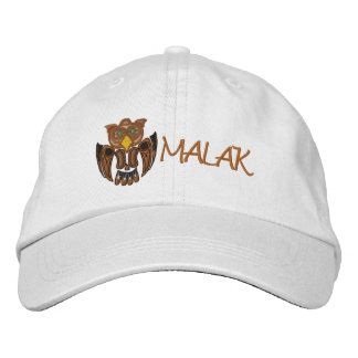 MALAK the Owl Embroidered Hats