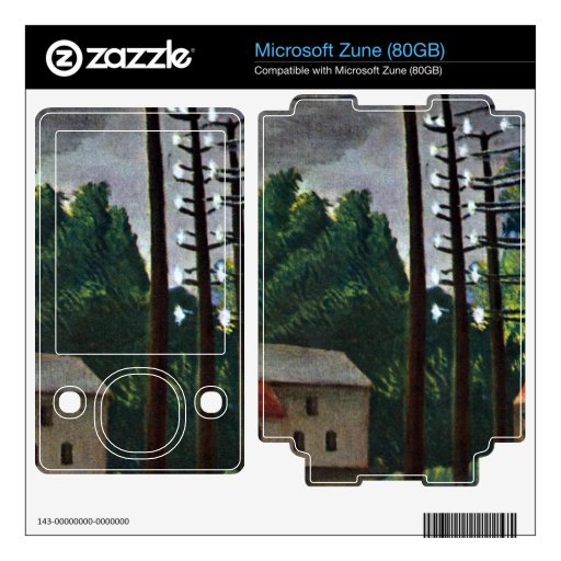 Malakoff by Henri Rousseau Skins For The Zune