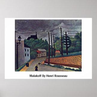 Malakoff de Henri Rousseau Poster