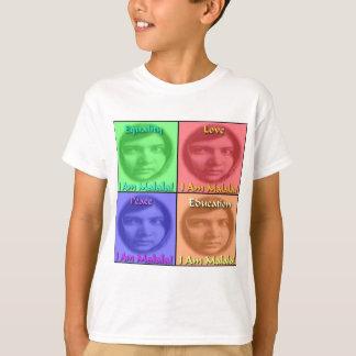 Malala Love Peace Education Equality T-Shirt