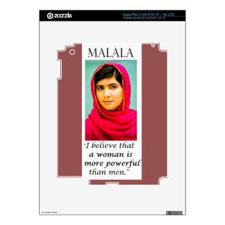 Malala: More Powerful Than Men! iPad 3 Decal
