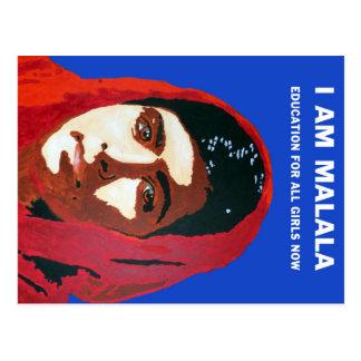 MALALA YOUSAFZAI POSTCARD
