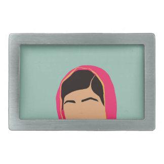 Malala Yousafzai Rectangular Belt Buckle