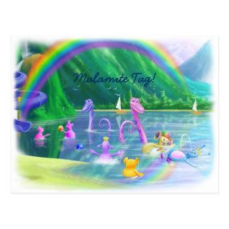 Malamite Tag Post Cards