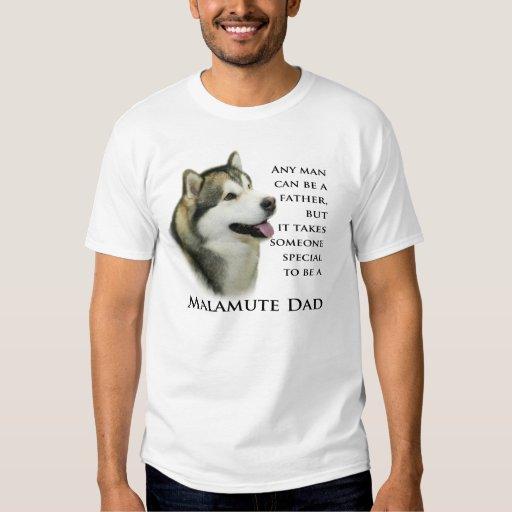 Malamute Dad Shirt
