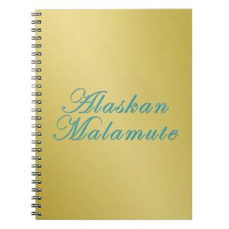 Malamute de Alaska Cuaderno