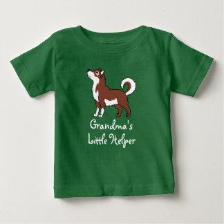 Malamute de Alaska rojo Camisas