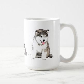 Malamute de Alaska Tazas De Café