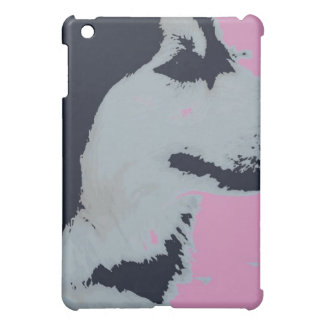 Malamute Dog Pop Art iPad Mini Covers