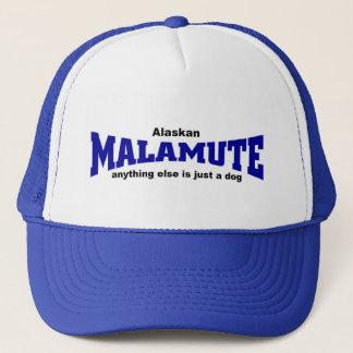 Malamute dog trucker hat