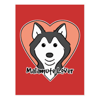 Malamute Lover Postcard