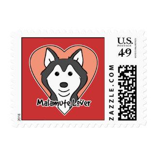 Malamute Lover Stamp