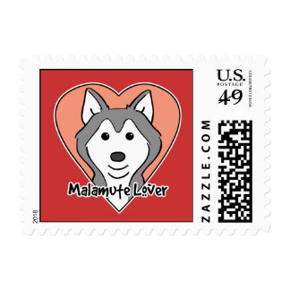 Malamute Lover Stamps
