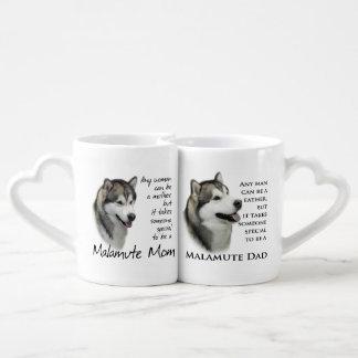 Malamute Mom/Dad Mugs