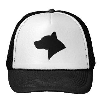 Malamute Silhouette Hat