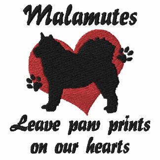 Malamutes Leave Paw Prints