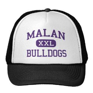 Malan - Bulldogs - Junior - Harrisburg Illinois Trucker Hat