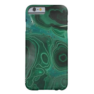 Malaquita Geode Funda De iPhone 6 Barely There