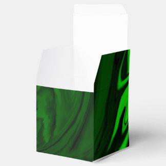 malaquita verde de la textura caja para regalo de boda