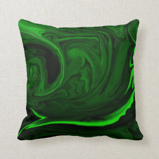 malaquita verde de la textura cojín decorativo