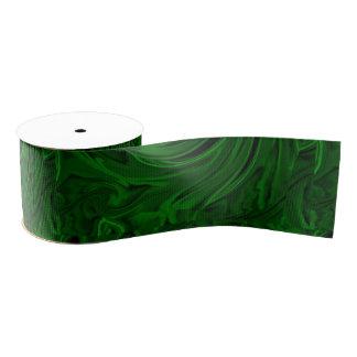 malaquita verde de la textura lazo de tela gruesa