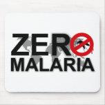 Malaria cero Mousepad Alfombrillas De Ratón