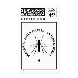 Malaria Philatelists International Logo Stamp