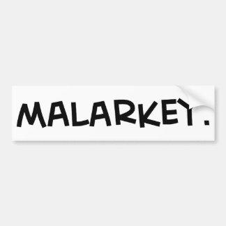 malarkey1 png bumper stickers