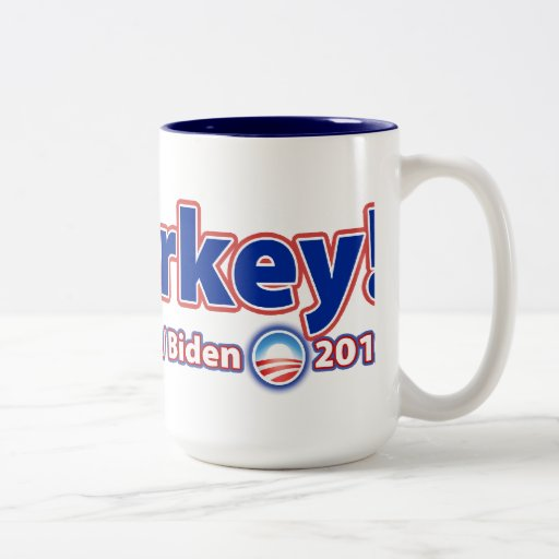 ¡Malarkey! Reelija a presidente Obama Joe Biden 20 Taza De Café