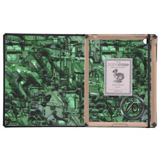 Malas cajas del folio del iPad del DODO del robot iPad Cárcasa
